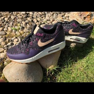 Nike Air Max 1 womens premium Purple Dynasty 7.5